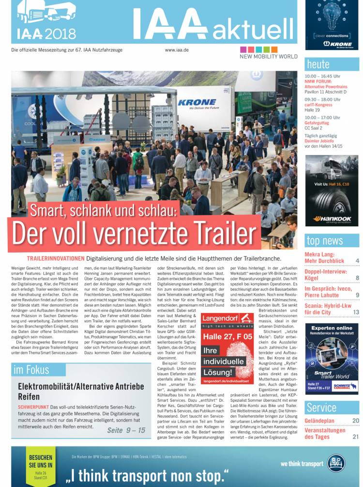 IAA aktuell 2018 - 25. September