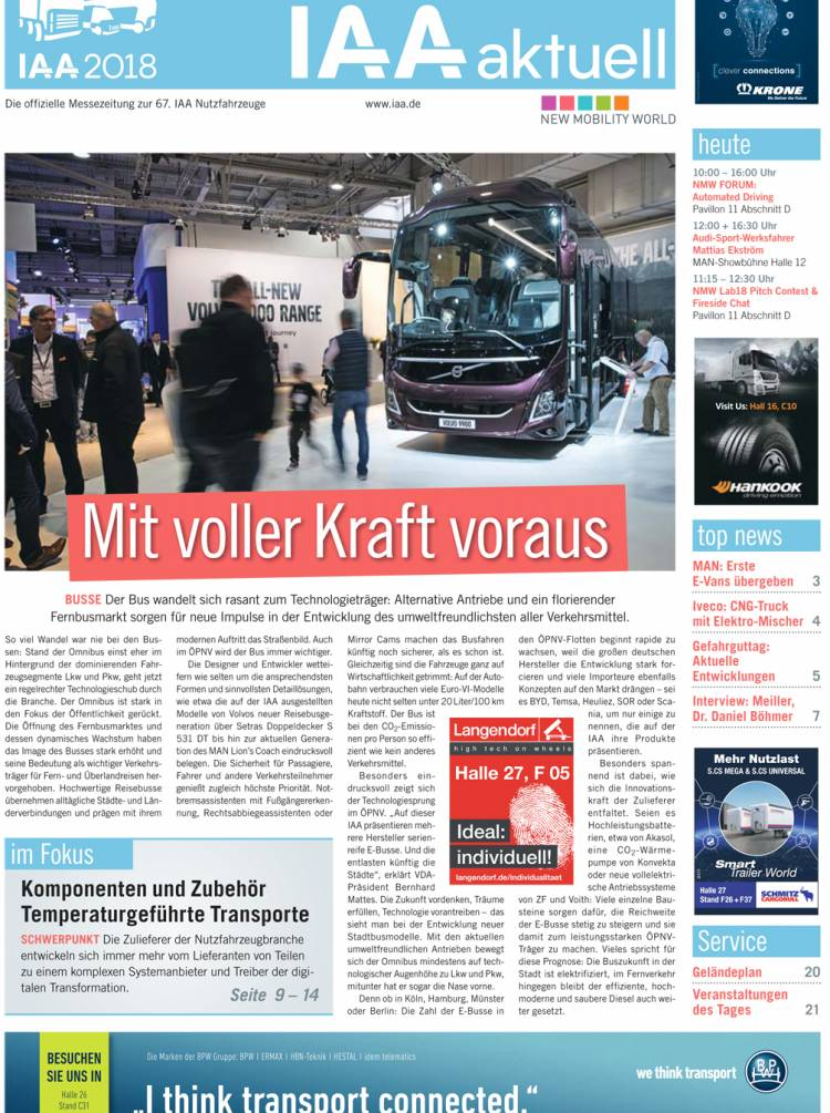 IAA aktuell 2018 - 26. September