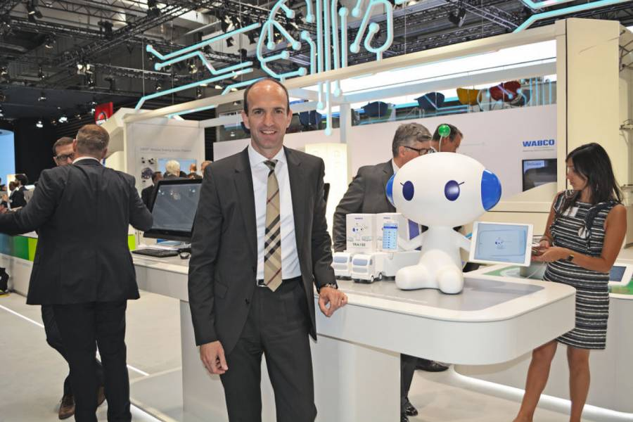 Dr. Christian Brenneke, Chief Technology Officer & Head of Engineering bei Wabco.