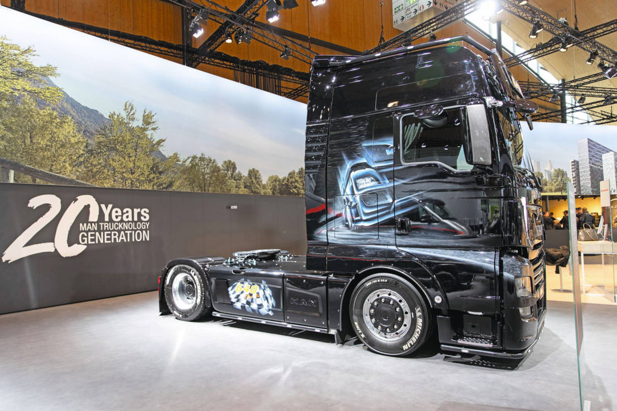 20 Years: MAN Trucknology Generation.