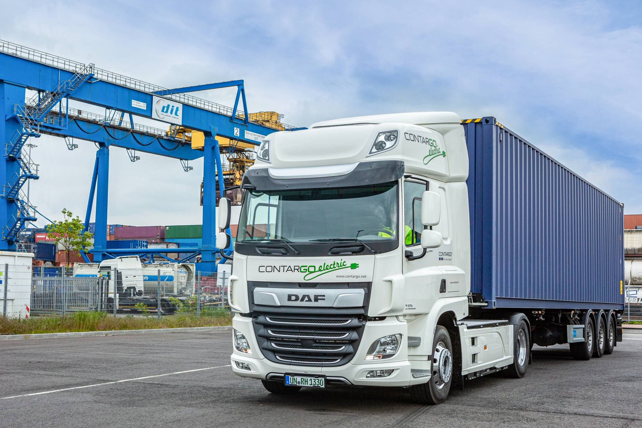 Innovativer DAF CF Electric erhält Green Truck Award